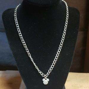 Disney Mickey Mouse Necklace & Earrings